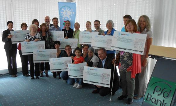 Stiftung PSD L(i)ebensWert spendet 25.000 Euro an saarländische Projekte