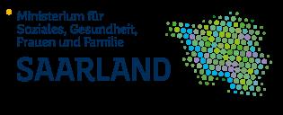 Logo Ministerium für Soziales, Gesundheit, Frauen und Familie Saarland