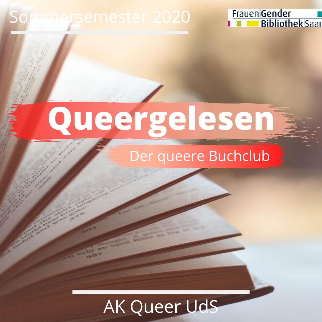 """Nächstes (Online-)Treffen von """"Queergelesen"""" am Mittwoch, 21.4.2021, um 19:30 Uhr"""