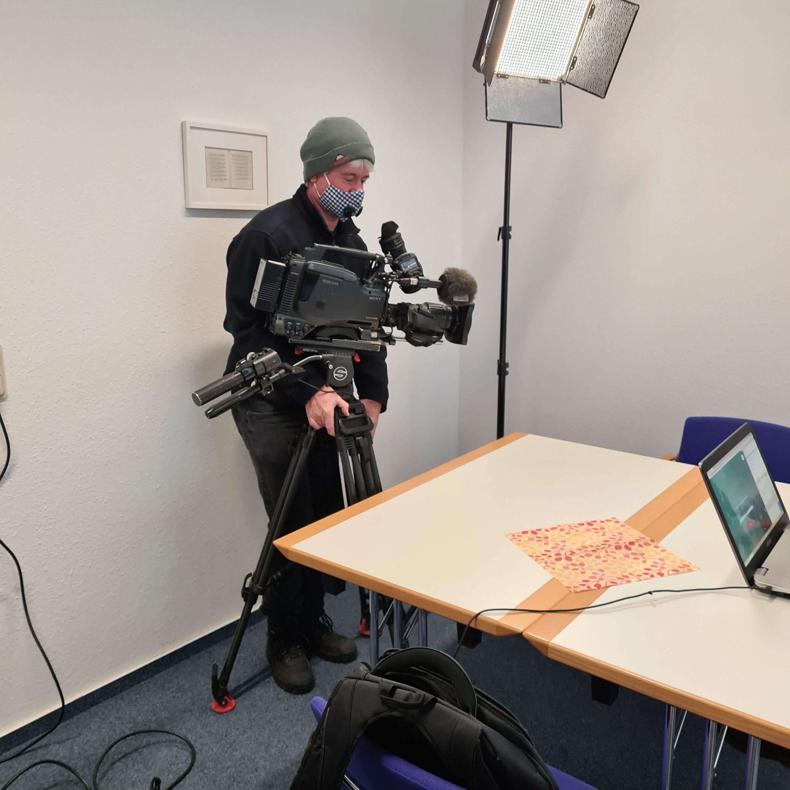 Projekt MiNET Saar am 20.1.2021 im SR-Fernsehen