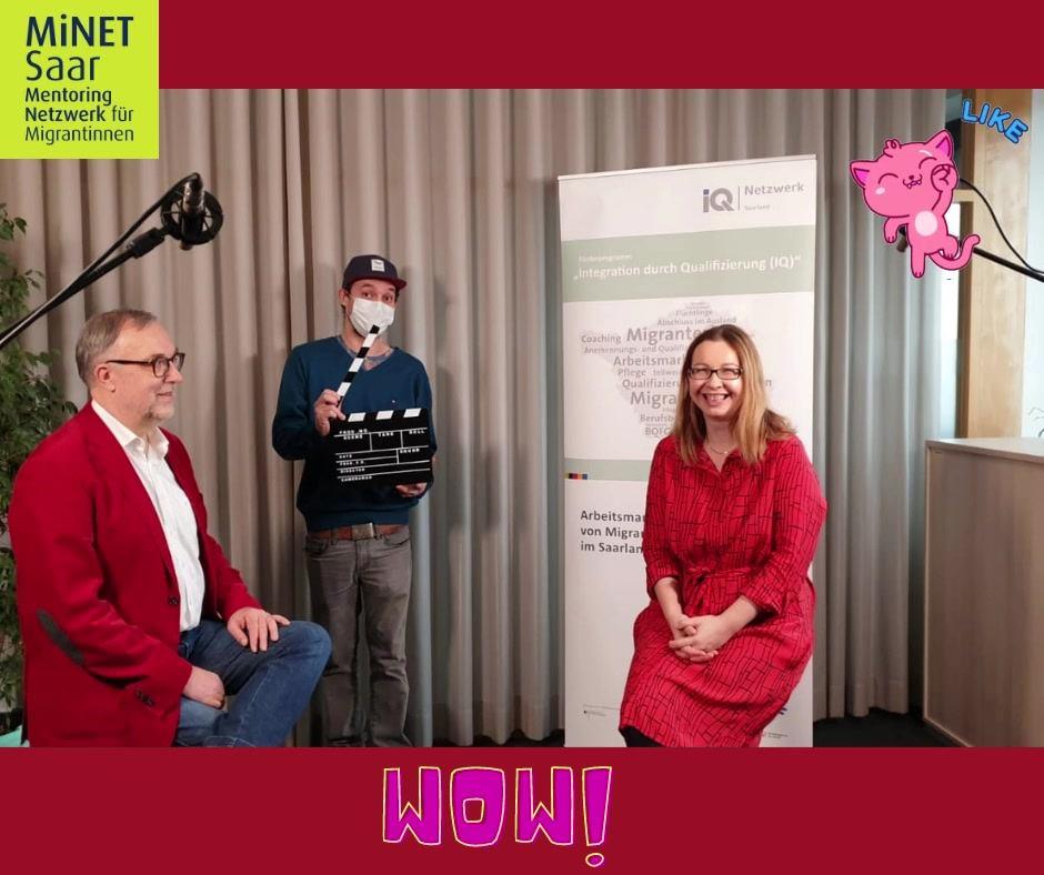 Interview zur Vorstellung des MiNET-Projektes