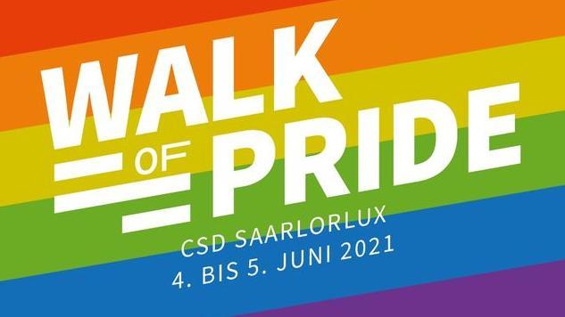 "FGBS beteiligt sich am diesjährigen ""Walk of Pride"" des LSVD Saar am 5. Juni 2021"