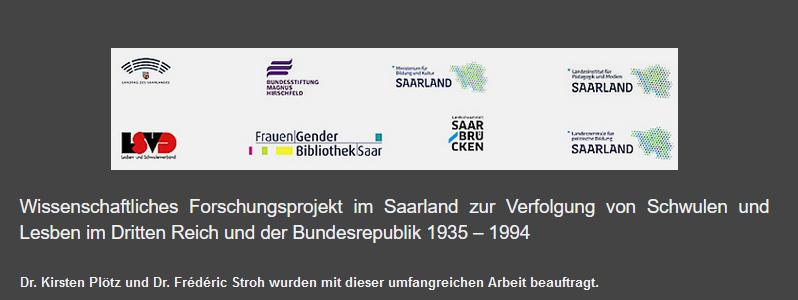 Neues Forschungsprojekt zur Verfolgung von Homosexuellen im Saarland